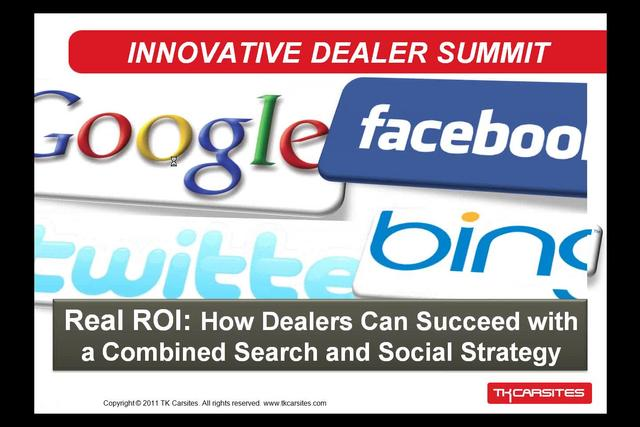Real ROI: How Dealers Can Succeed with a Combined Search and Social Strategy