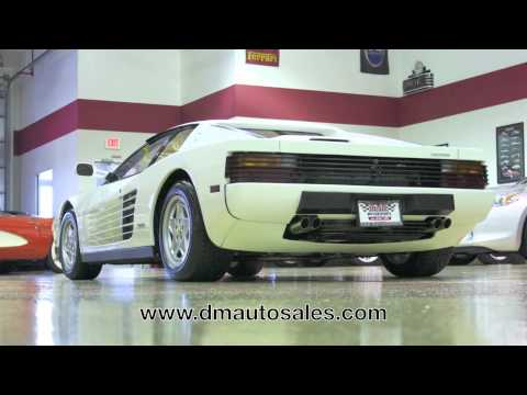 Ferrari Testarossa--Automotive Media Group Test Drive