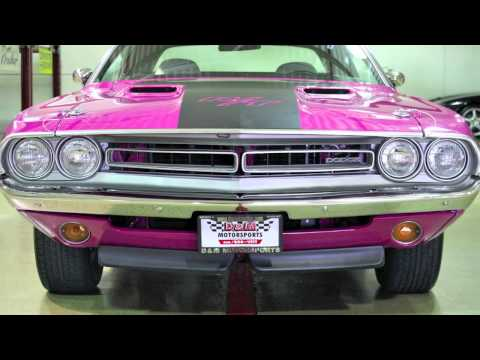 1971 Dodge Challenger RT--D&M Motorsports Auto Review HD