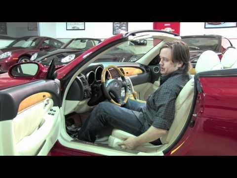 Lexus SC430 Convertible--D&M Motorsports Auto Review HD