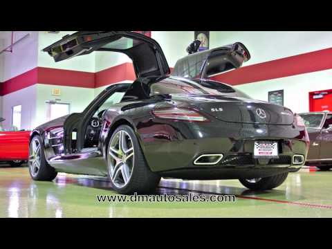 Mercedes-Benz SLS AMG--AutoMedia Test Drive and Video Walk Around For Sale 2011