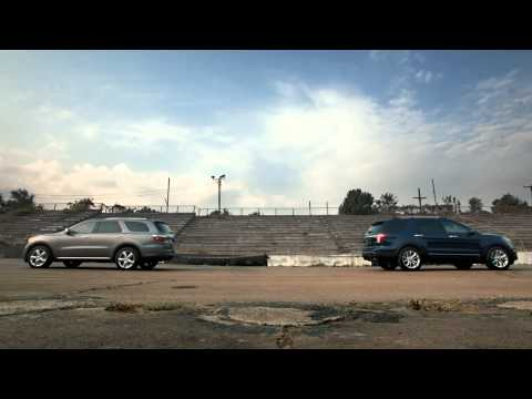 Dodge Durango versus Ford Explorer Tug of War