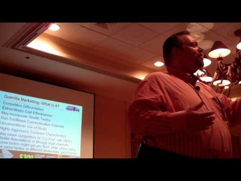 Ralph Paglia Describes Guerrilla Marketing Characteristics at Internet Battle Plan