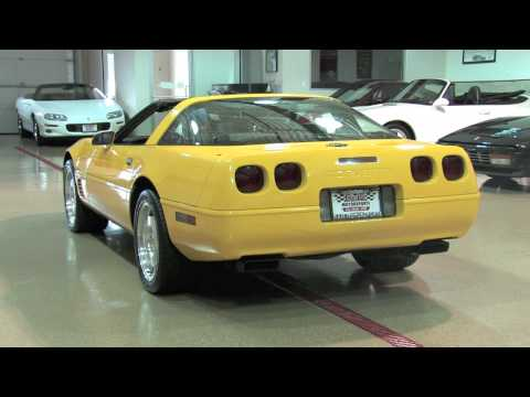 1996 Corvette LT4 Coupe--D&M Motorsports Video Walk Around Review 2011