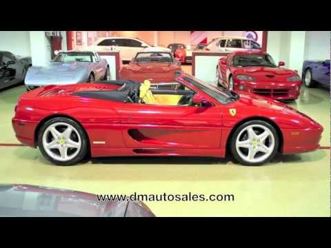 Ferrari F355 Spider--AutoMedia Video Test Drive and Walk Around Review For Sale 2011