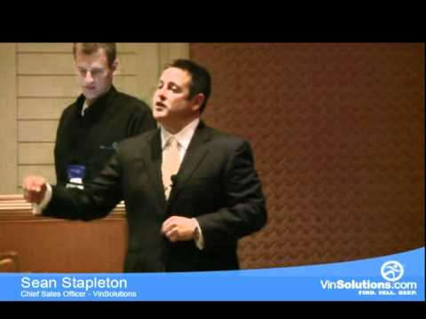 Sean Stapleton | VinSolutions | Use the Power of your Data & Current Tools to Sell More Cars