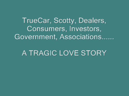 TrueCar & Painter, A Tragic Love Story