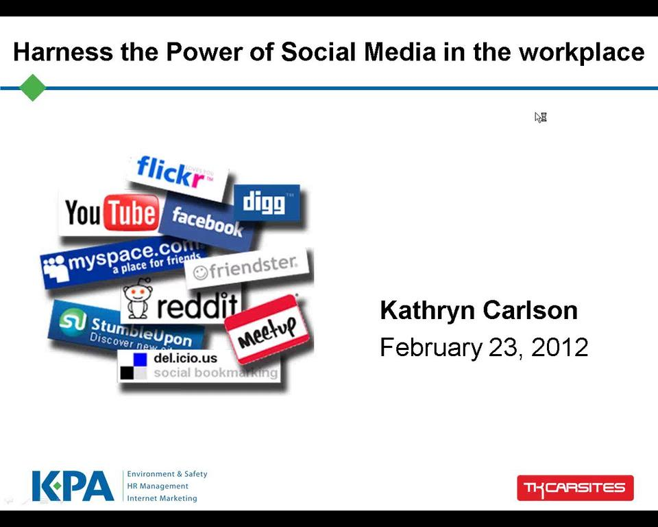 How to Harness the Power of Social Media in the Workplace