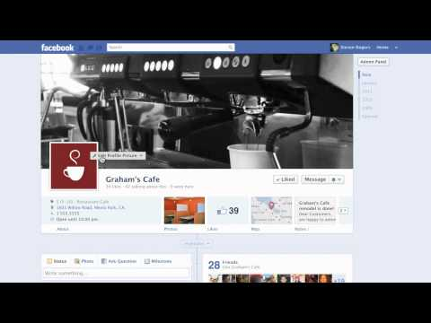Facebook - Customizing How Your Page Looks 2