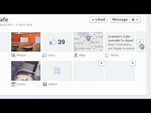 Facebook - Customizing How Your Page Looks 6