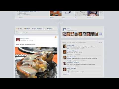 Facebook - Customizing How Your Page Looks 3