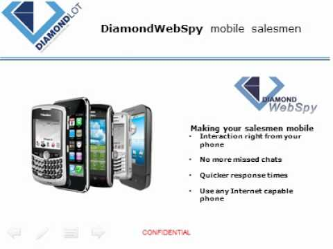 DiamondWebSpy Truly engage and interact online. Chat with a twist! DiamondLot Consulting