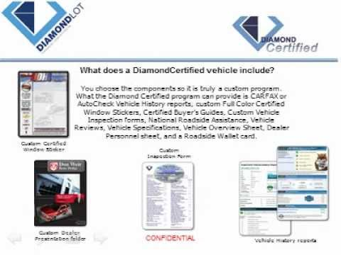 DiamondCertified Sell More Cars With A Certified Pre-Owned Program From DiamondLot Consulting