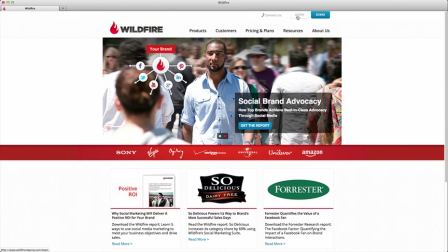 Wildfire 2.0 User Guide to Upgraded Suite Navigation  Wildfire Interactive Support