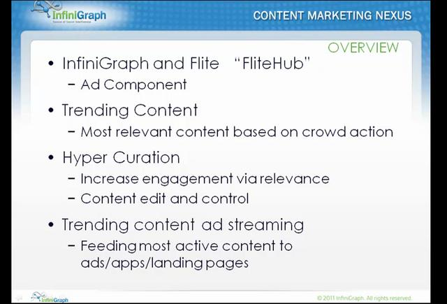 InfiniGraph Intelligence Trending Content In Ads FliteHub