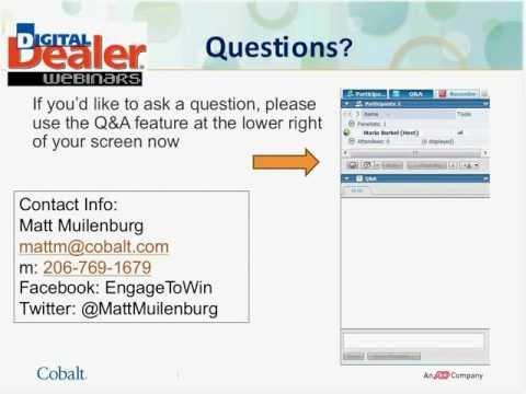 Reputation Management Webinar - Matt Muilenburg