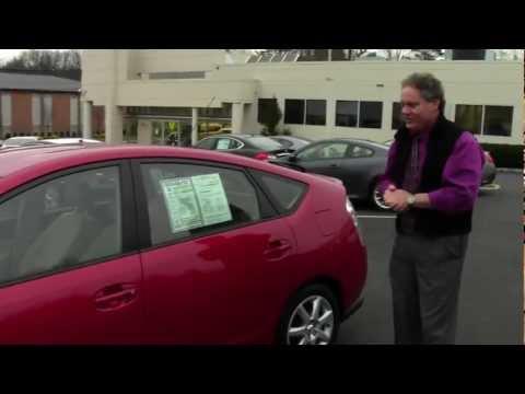 Toyota Prius Hybrid NJ | Ken Beam shows `08 Toyota Prius Hybrid at Douglas Infiniti in Summit NJ |