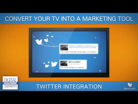 Twitter Integration of the Digital Dealership System