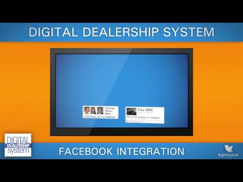 Facebook Integration of the Digital Dealership System