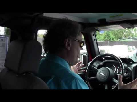 2009 Jeep Wrangler Unlimited Rubicon NJ | Ken Beam shows `09 Jeep  at Douglas Infiniti in Summit NJ