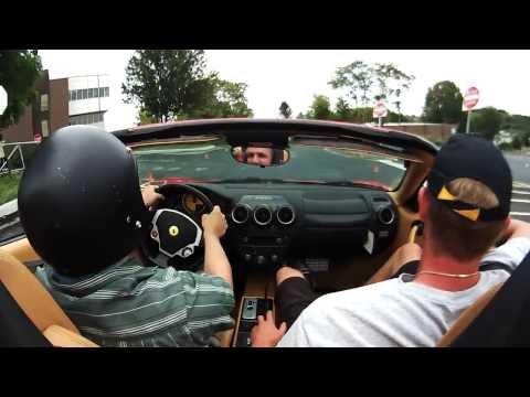 EmpireCovers Drives A Ferrari F430 Spyder in Philadelphia