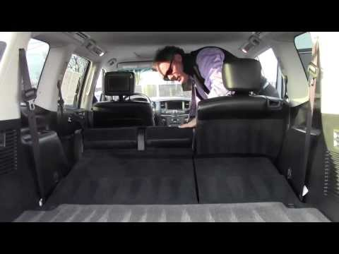 Infiniti QX56 Clifton NJ | Ken Beam shows 2012 QX56 at Douglas Infiniti in Summit NJ | QX56 NJ