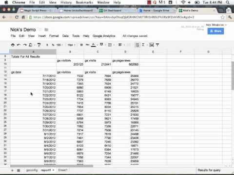Building Dealer Dashboards: Google Analytics and Google Apps Script