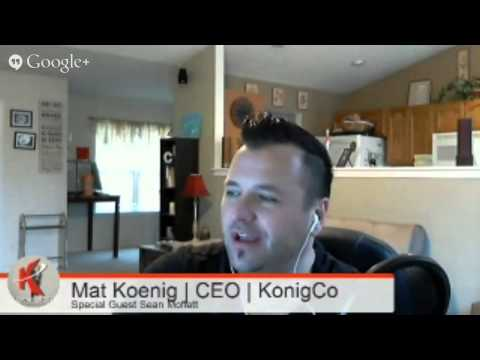 KonigCo Automotive Marketing Hangout | Special Guest Sean Moffett