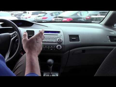 Automotive Video Pioneer - Ken Beam shows `09 Civic EX at Douglas Infiniti in Summit NJ   NJ Honda