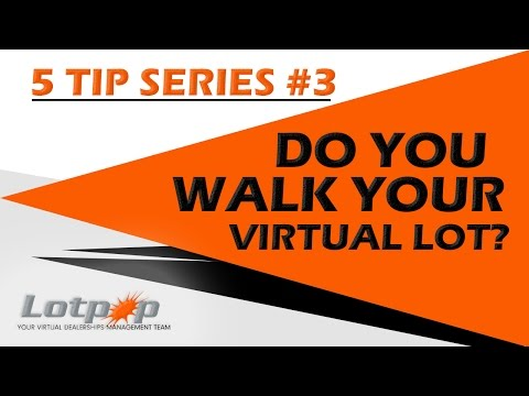 Tip #3 - 5 Areas on Used Car Management to Increase Gross & Volume - by Jasen Rice from Lotpop