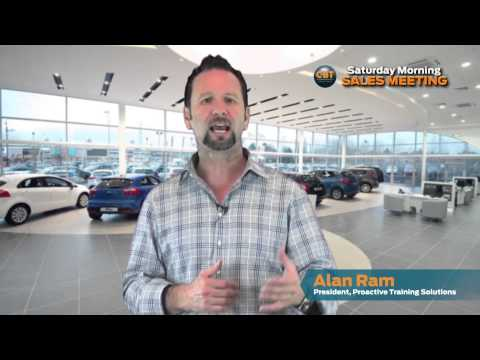 Saturday Morning Sales Meeting with Alan Ram