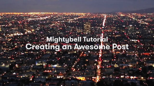 Starting Conversations on Mightybell (Tutorial)
