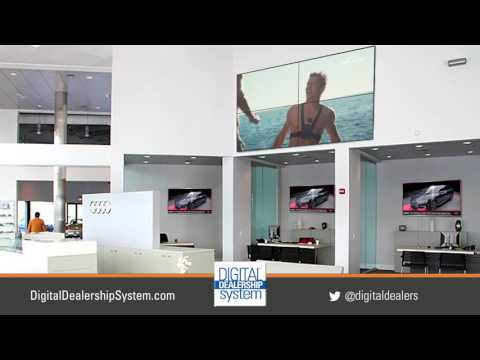 Showroom Video Wall and Office Marketing