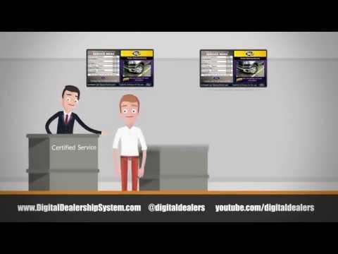 Digital Service Menus from the Digital Dealership System