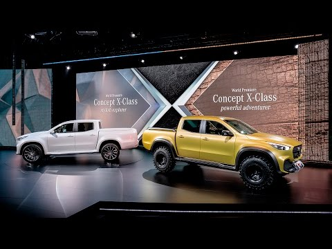 Mercedes-Benz Pickup – The Concept – Mercedes-Benz Original