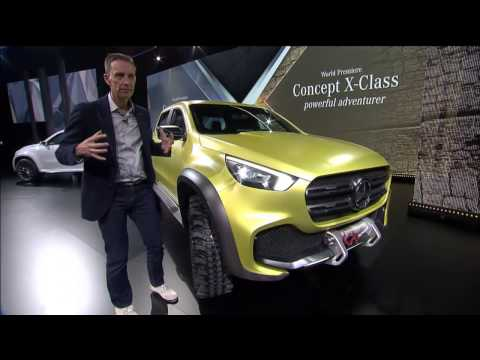 "Sweden: Walkaround Mercedes-Benz Pickup ""The Concept"" – Mercedes-Benz Original"