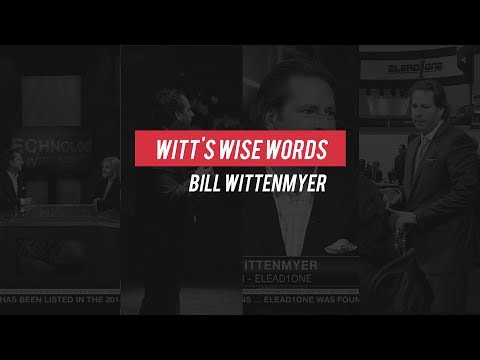 Witt's Wise Words - You Are Your Own Brand