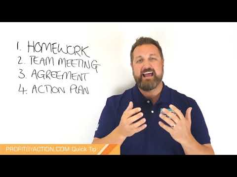 Profit By Action Quick Tip: Business Planning 4 - Agreement & Action Plan