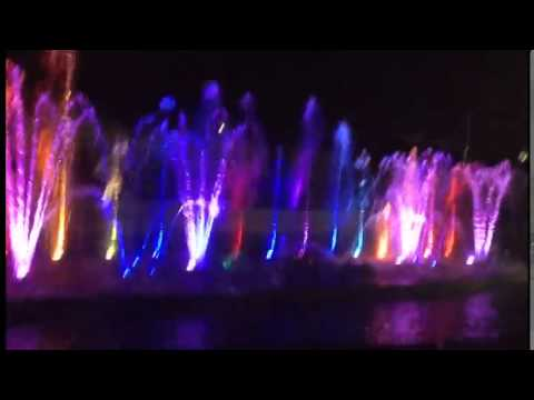 Музыкальное шоу-фонтан в Ашдоде 2014