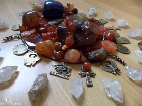 Священный Скарабей. Сотворение... Сердолик - кровь Богини Матери... (часть 1)