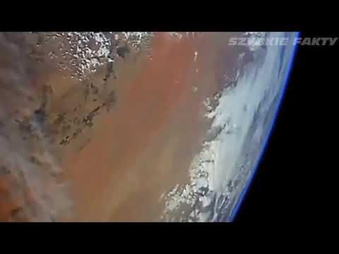 Видео с МКС - скоростные НЛО -  KOSMICZNEJ NASA