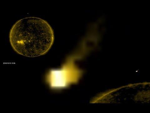 Уфорог обнаружил светящийся куб около Солнца, 15.10.18 г