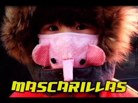 Mascarillas: contaminación + moda 2 en 1. Living in Pekin by Roger Vicente