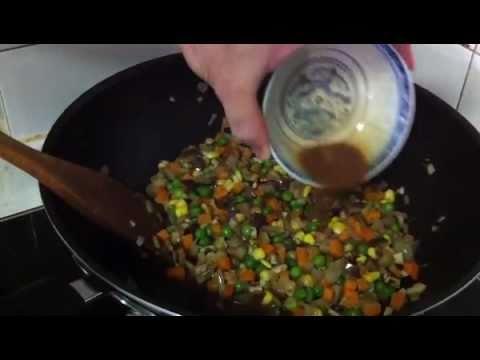 12. Arroz Tres Delicias - Cocina Oriental y Cual