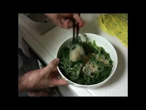 2. Ensalada de Pasta fría con Espinacas - Cocina Oriental y Cual