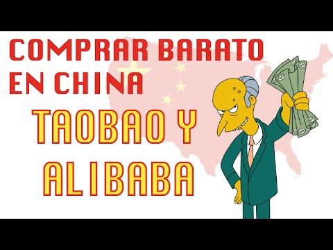¿CÓMO COMPRAR BARATO EN CHINA? Taobao y Alibaba