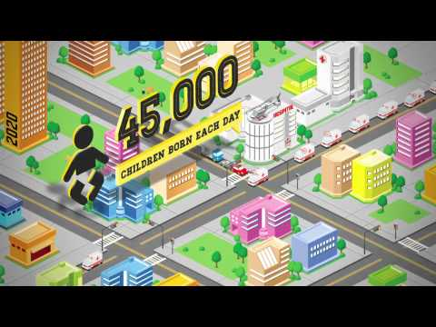 Urban Migration in China - Infographic Animation