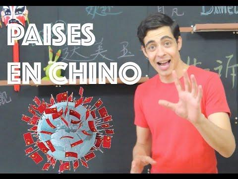 PAISES EN CHINO MANDARÍN | Dímelo en Chino | CLASE DE CHINO