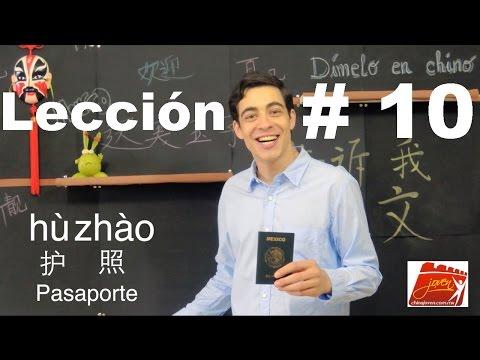 Clases de Chino | Lección # 10 | Chino Mandarín Básico | Dímelo en Chino