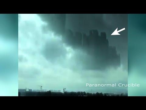 Misteriosa ciudad aparece en el cielo de China